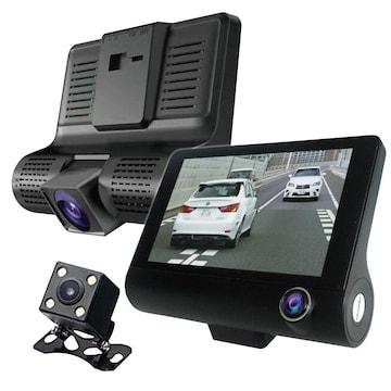 前方 室内 後方 全景 駐車監視 サイクル録画 車内外同時録画