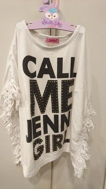 ジェニ★ポンチョ風Tシャツ  < ブランドの