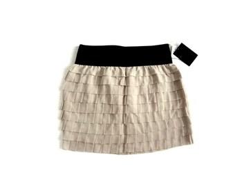 新品 定価13125円 クルーンアソング ティアード ミニ スカート