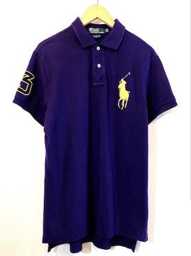 Ralph Lauren■ポロシャツ■ビッグポニー■ラルフローレン■紫