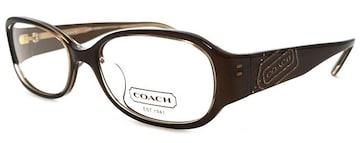 未使用正規コーチ眼鏡メガネフレームめがね2042Kロゴブラ