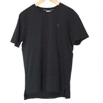 新品◆PUMA 黒胸ロゴTシャツ(M)