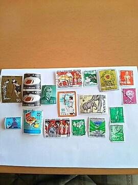 切手 スリランカ 等 海外切手あり 郵便番号5周年 消印 新品