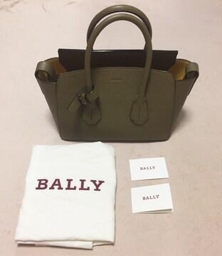 BALLY☆バリー☆SOMMET☆レザーバッグ☆カーキ ベージュ☆新品