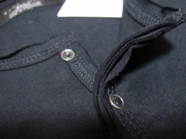 ☆ZARA/ザラ 6B切り放し加工 長袖Tシャツ/メンズ・S/ネイビー☆新品 < ブランドの