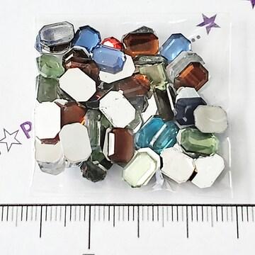 8*デコパーツ 宝石型ストーン 1