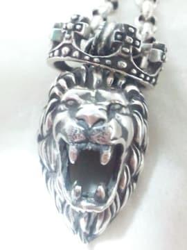 ライオンハート【LION HEART】SILVER 925 シルバー ハウル ライオン ペンダント ネックレス
