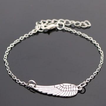 ♪♪送料無料♪♪ アンクレット?ブレスレット? 天使の翼
