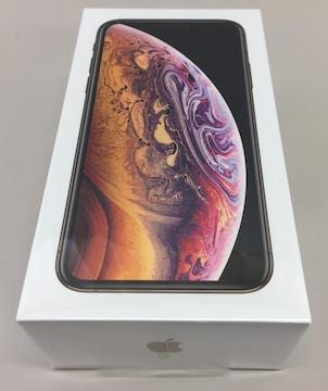 docomo Apple iPhoneXs 256GB ゴールド MTE22J/A �A