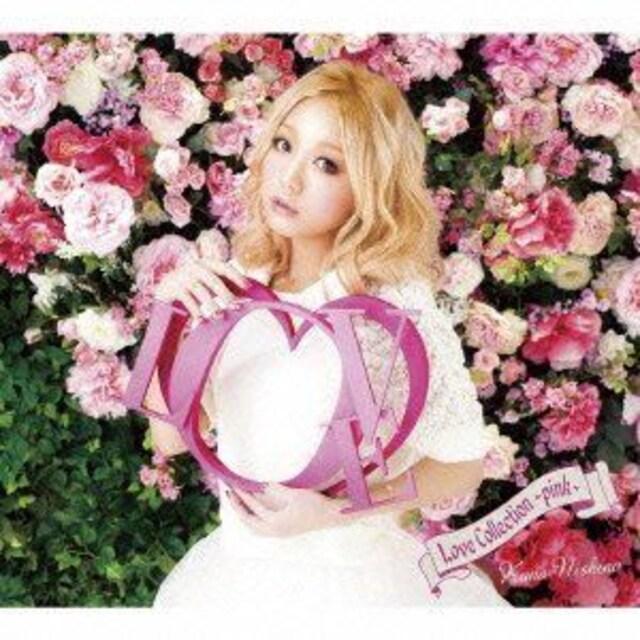 即決 応募券封入 西野カナ Love Collection pink 初回限定盤  < タレントグッズの