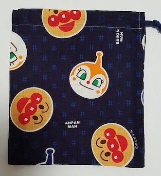 98K  アンパンマン  巾着 (^o^) ハンドメイド