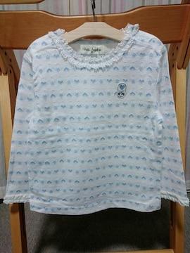 ◆訳あり★即決★新品★プチアンジェリーナ★長袖Tシャツ★95�p