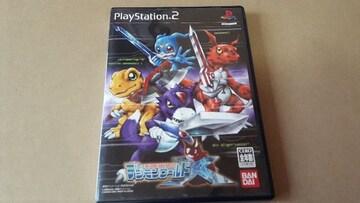PS2☆デジモンワールドX☆状態良い♪