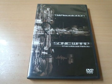 T.M.Revolution DVD「SONIC WARP the Visual Fields」西川貴教●