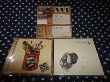 山崎まさよし『HEART~』+『IN MY HOUSE』初回盤+『HOBO'S~』3枚