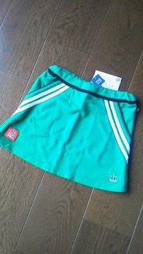 新品2ラインミニスカート110緑ベビドBABYDOLLベビードール