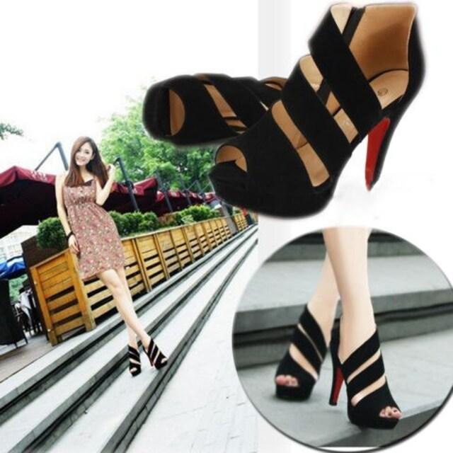 セクシー ピンヒール オープントゥサンダル 美脚 パンプス11�p 靴 結婚式/パーティー < 女性ファッションの