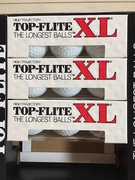 ■ゴルフボール TOP-FLITE XL 9個