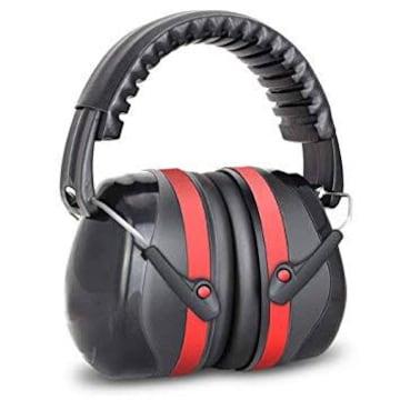Earest 防音イヤーマフ 遮音値32dB 聴覚保護 ANSI S3.19&CE EN3
