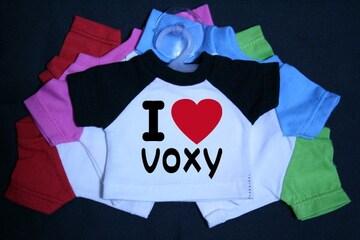 I LOVE ミニTシャツ voxy 各色有り