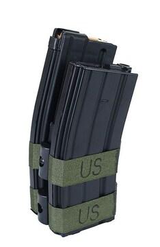 M4/M16用 電動マガジン 800連 電池ボックス仕様 BK