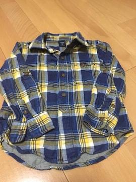 シャツベビーGAP、男の子用 ネルシャツ 3歳