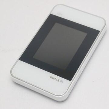 ●美品●au HWD15 Wi-Fi WALKER WiMAX 2+ ホワイト●