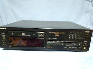 ソニー CDプレイヤー CDP-X33ES ジャンク