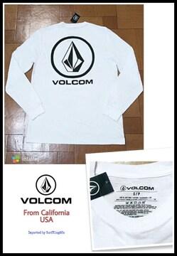 【VOLCOM】最新ロンT★本物USA直輸入モデル!送込み特価SALE!