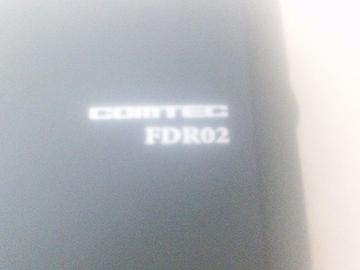 コムテックFDR02(コンパクト&GPS&テノヒラサイズ)