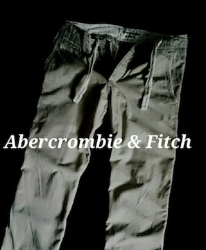 【Abercrombie&Fitch】アバクロ 最高峰 Vintage Destroy チノパンツ 32