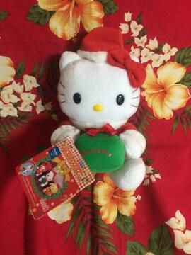 新品未使用☆キティちゃんぬいぐるみ☆クリスマス☆