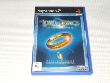 PS2★THE LORD OF THE RINGS THE FELLOWSHIP OF THE RING 海外版