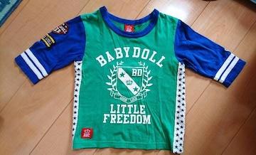 ベビードール★110�p/オシャレBOY★Tシャツ(^-^)