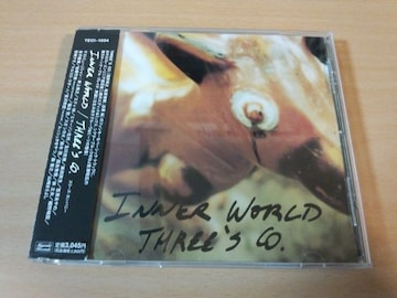 THREE'S CO. CD「INNER WORLD」山崎まさよし、奥田民生 宮沢和史