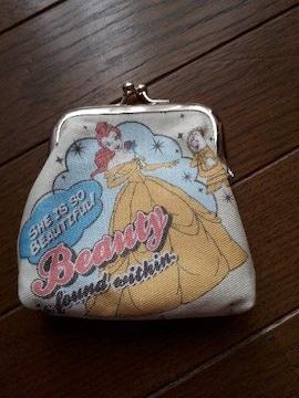 ディズニー・プリンセス・ベル・がま口・ハンドメイド