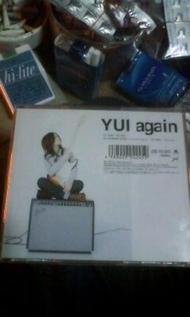 YUICD「again」通常版 < タレントグッズの