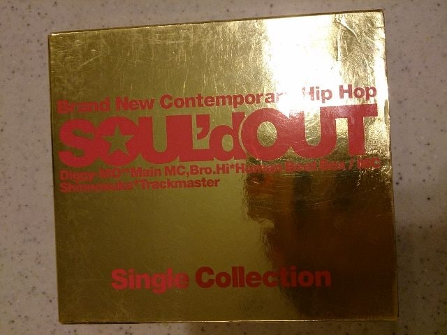 SOUL'd OUT「Single Collection」ベスト/初回DVD付  < タレントグッズの