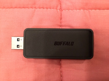 ■Buffalo WiFi子機 WI-U3-866D
