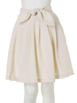DazzliN'ウエストリボンメモリーフレアースカート