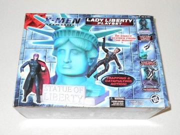 X-MEN★THE MOVIE LADY LIBERTY PLAYSET レディ・リバティー
