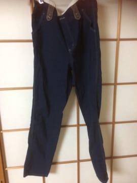 しまむらコラボ商品紺パンツL*クリックポスト188円