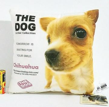 ○ THE DOG『ミニクッション(チワワ)』未使用(開封)