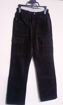 ブラウン140cm長ズボン新品