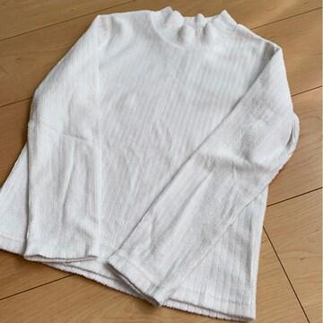 白/あったか/軽い/長袖/130�p