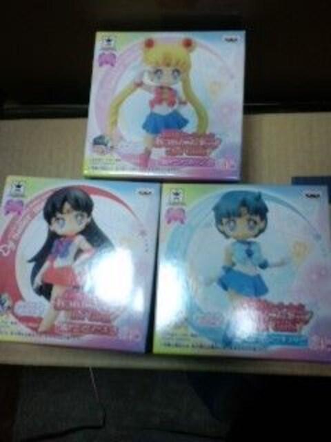 �@セーラームーン あつめてフィギュア for Girls1(3種)  < アニメ/コミック/キャラクターの