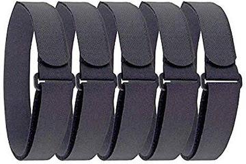 Furupa 物固定ベルト 伸びない固定バンド 5本組 2.5cm×50cm バ