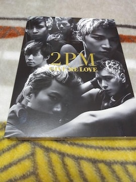 *☆2PM☆GIVE ME LOVE初回盤A(CD+DVD)♪