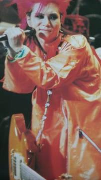 X JAPAN hide ポスター ヒデ 1996年 PSYENCE A GO GO