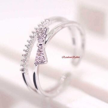 指輪 18K RGP プラチナ ハーフ エタニティ リング yu1113e
